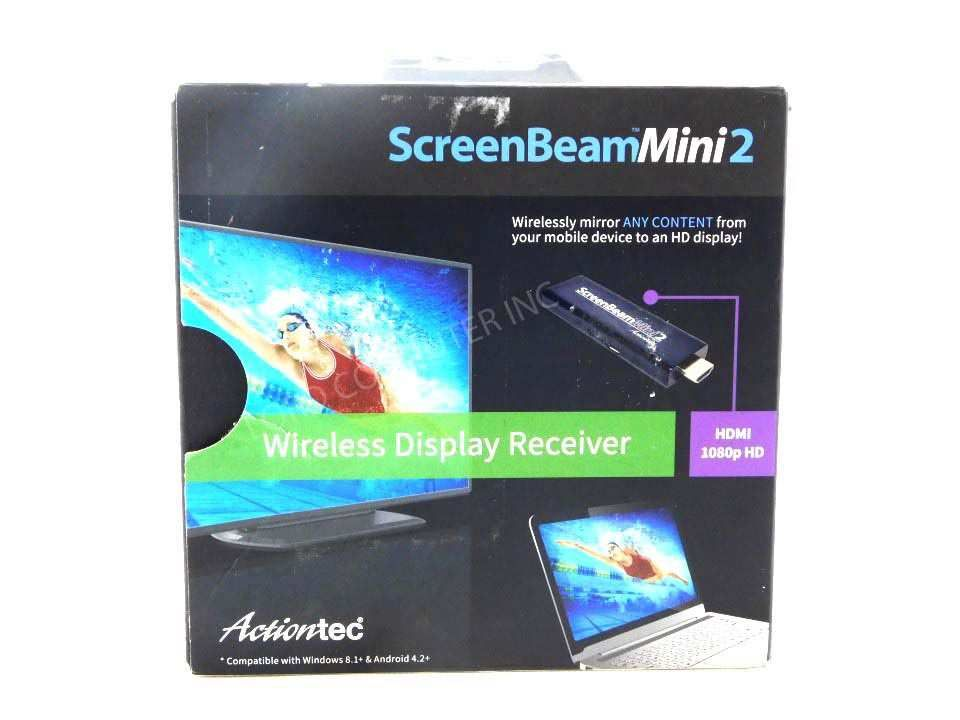 Actiontec ScreenBeam Mini2 Wireless Display Receiver SBWD60A01