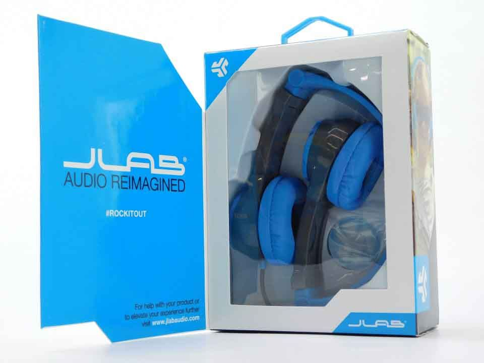 db959f35076 JLab Audio JBuddies Kids- folding Volume Limiting Headphones (Gray/Blue)