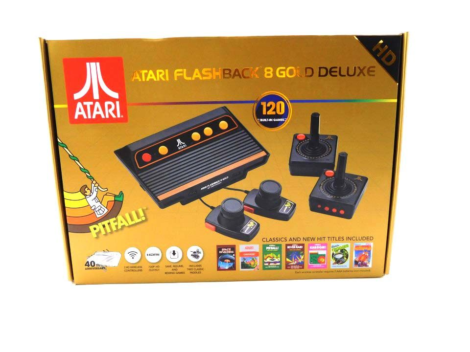 Atari 40th Anniversary Flashback 8 Gold Deluxe Hd