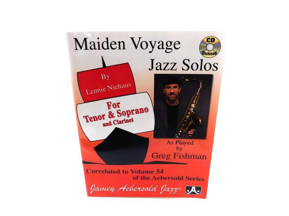 Vol  54 Maiden Voyage Tenor Sax Solos - Audio CD