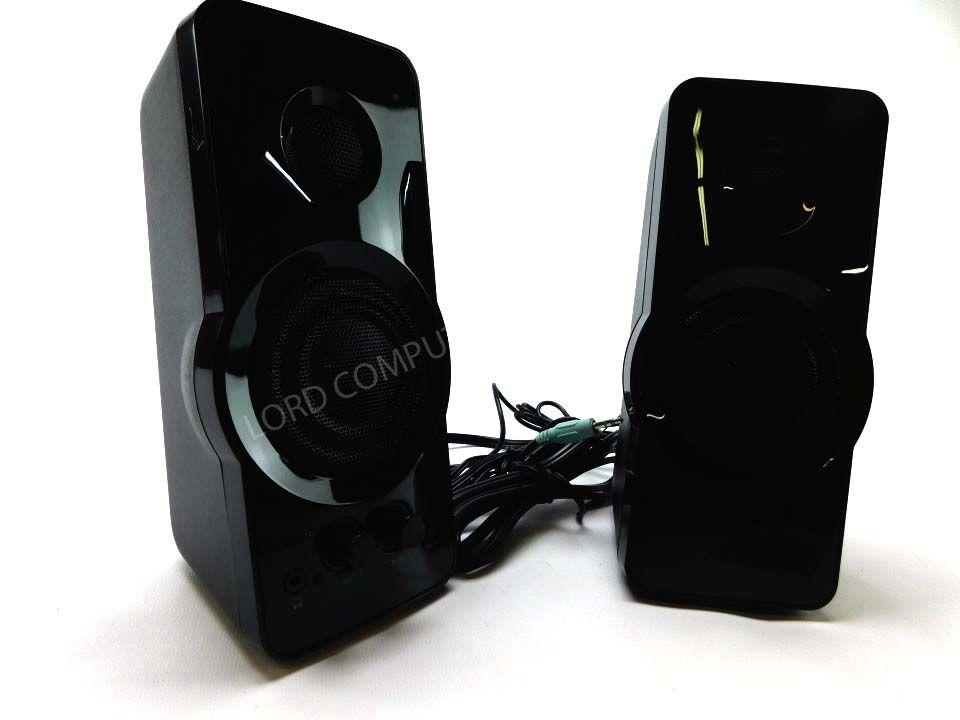 BlackWeb BWA15HO110 2 0 Powerful Speaker System