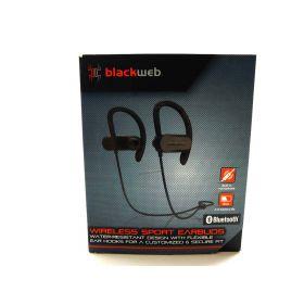 Blackweb Wireless Bluetooth Sport Earbuds Bwa18aa001 Black