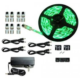 Cut and Connect Series Kit:Normal Bright Green-12M Flexible LED DIY Kit