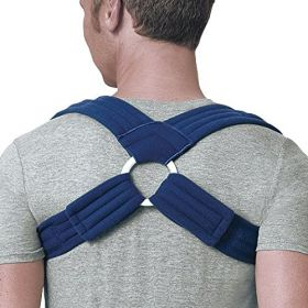 Deluxe Clavicle Support for Fractures, Sprains, Shoulder Posture Support- MD
