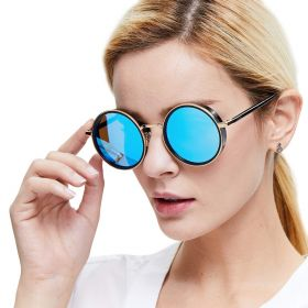 Polarized sunglasses for women from DUCO and circular protection lenses