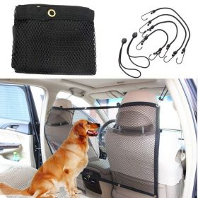 Net barrier for pet cars, Focuspet Pet security Travel isolation 44.1''x24.5 ''