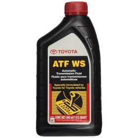 Genuine Toyota Lexus Automatic Transmission Fluid 1QT WS ATF Standard (4 Pack)