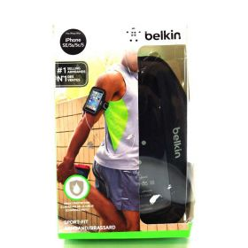 Belkin Sport Fit Armband for iPhone 5/5S & ipod touch 5th (Black)