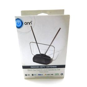 Onn ONA16AV001 Indoor HDTV Antenna (Black)
