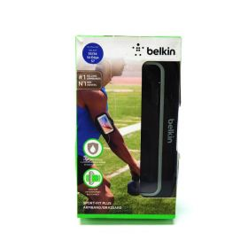 Belkin Sport-Fit Plus Armband for Samsung Galaxy S5, S6, S6 EDGE S7 Black