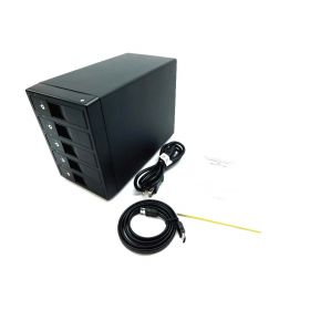 """Kingwin KST-500 5-Bay HDD Slots External Enclosure for 3.5"""" SATA Hard Drive"""