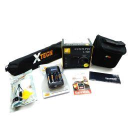 Nikon COOLPIX L340 Digital Camera with 28x Zoom & Full HD Accessory Kit