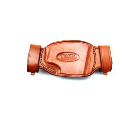 Tagua Gunleather Quick Draw Belt Snap Holster, BROWN