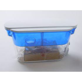 18-cup PUR dispenser includes 1 filter, filter helps reduce chlorine taste