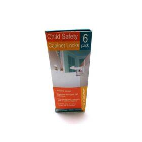 Child Safety Cabinet Locks 6 pack