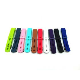 Compatible Fitbit Charge 2 Bands-Budesi Adjustable Replacement 10 Color Pk Small