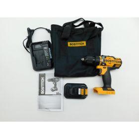 Bostitch BTC401LA 18v Lithium 1/2in. Drill / Driver Kit Cordless Drill
