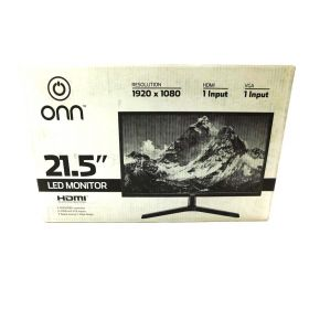 ONN ONA18HO015 21.5 LCD 1080x9020 60hz Monitor (Black)