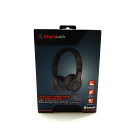 Blackweb BWA18AA007 Over-Ear Wireless Headphones with Active Noise Cancellation