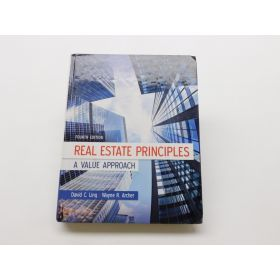 Real Estate Principles: A Value Approach 4th Edition - Hardcover (Mcgraw-hill)