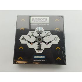 Golden Bell Studios Boardgame Robots on the Line Box SW