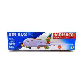 AIRBUS A380 AEROPLANE ELECTRIC TOY WITH LIGHTS AND SOUND BIG SIZE BUMP