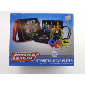 "Ematic Justice League 9"" Portable DVD Player (WBPDV9800JL)"