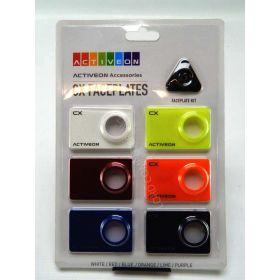CX Faceplates - 6 Colors (Black)