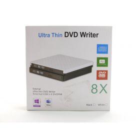 External CD Drive USB 3.0 Portable Slim External DVD Drive