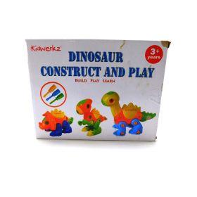 Kidtastic Dinosaur Toys - STEM Learning Original (106 pieces), 3 pack