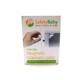 Magnetic Cabinet Locks - Child Safety Locks, Baby Proofing Cabinets System