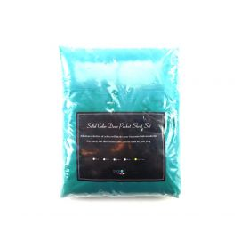 BASIC CHOICE Solid Color Microfiber Deep Pocket Fitted Sheet Cal King Teal