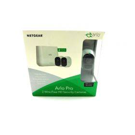 Arlo - Pro 2 2-Camera Indoor/Outdoor Wireless 1080p Security Camera System White