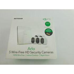 Arlo Smart Home 5 HD Wireless Security Cameras (VMS3530-100NAS)