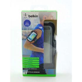 Samsung Galaxy S6 and Galaxy S6 Edge Belkin Slim-Fit Armband (Black)