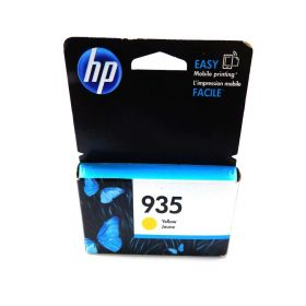 HP 935 Yellow Original Ink Cartridge (C2P22AN) for HP Officejet 6812 6815 HP Officejet Pro 6230 6830 6835