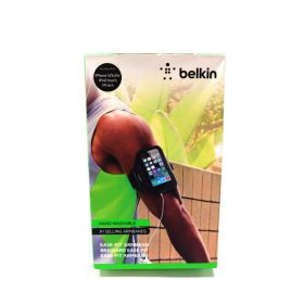 Belkin Ease-Fit Armband with Adjustable Strap for iPhone 5/5s/5c/SE (Black)