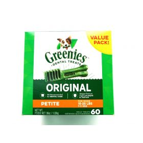 GREENIES Original Petite Dental Dog Treats, 36 oz. Pack