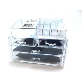 Unique Home Cosmetic Makeup Organizer Fits Most Conceal Acrylic Makeup