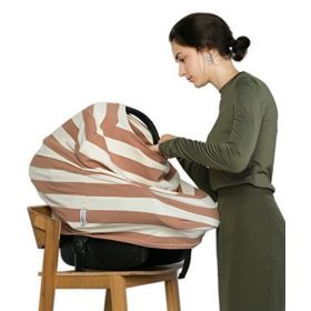 Breastfeeding sleeve + 1 belching cloth by HealthySam - Baby seat covers.