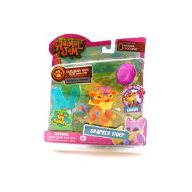 Animal Jam Action Figure Best Dressed Sparkle Tiger