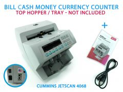 Cummins JetScan Model 4068 Commercial Bill Cash Money Currency Counter (Damaged)