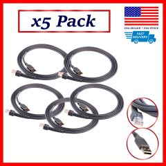 5 Pack ✅ USB cable for Symbol Motorola Barcode Scanner 7FT 2M ✅ Fast Shipping