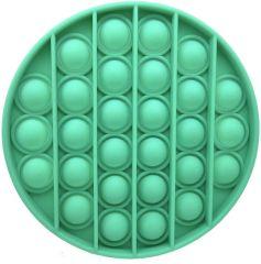 Push Pop Bubble Fidget Toy The push pop fidget toy is waterproof Green Circle
