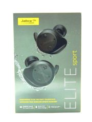 Jabra - Elite Sport True Wireless Earbud Headphones - Black