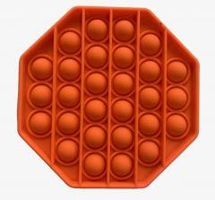 Pop Bubble Fidget Toy Washable Flexible helps children concentrate OrangeOctagon