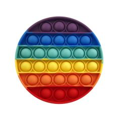 Push Pop Bubble Sensory Fidget Toy for Kids Adults Anxiety Multicolor Circle