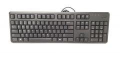 Dell Genuine Keyboard US Layout KB212 USB Wired Black Slim Standard 104 Key