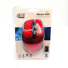 Adesso iMouse M20 - Wireless Ergonomic Optical Mouse (DPI 800/ 1200/ 1600)