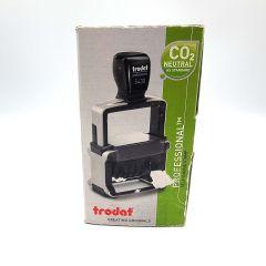 "Trodat Professional 4.0 Date Only Stamp, Impression Size 1-5/8"" x 3/8"", Black"